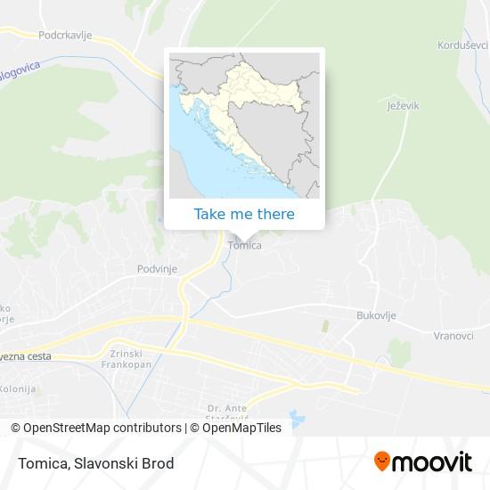 Tomica map