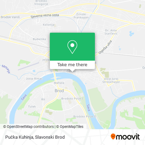 Pučka Kuhinja map