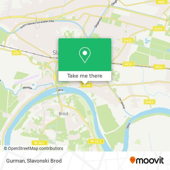 Gurman map