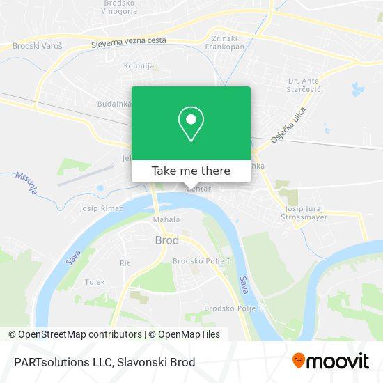 PARTsolutions LLC map