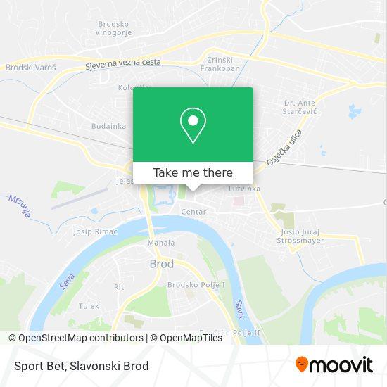 Sport Bet map