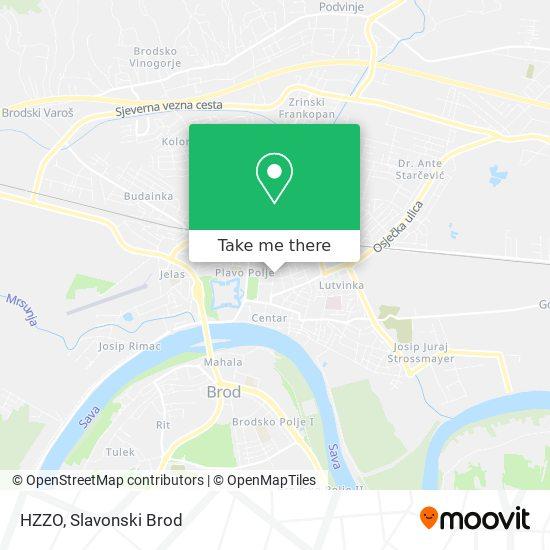 HZZO map
