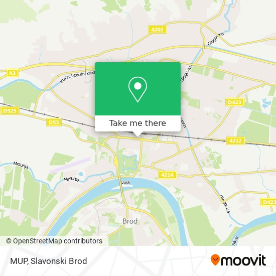 MUP map
