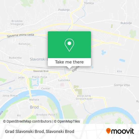 Grad Slavonski Brod map