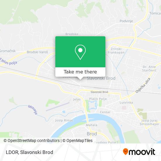 LDOR map