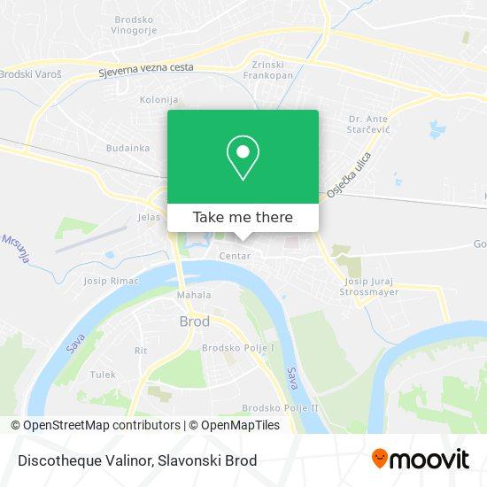 Discotheque Valinor map