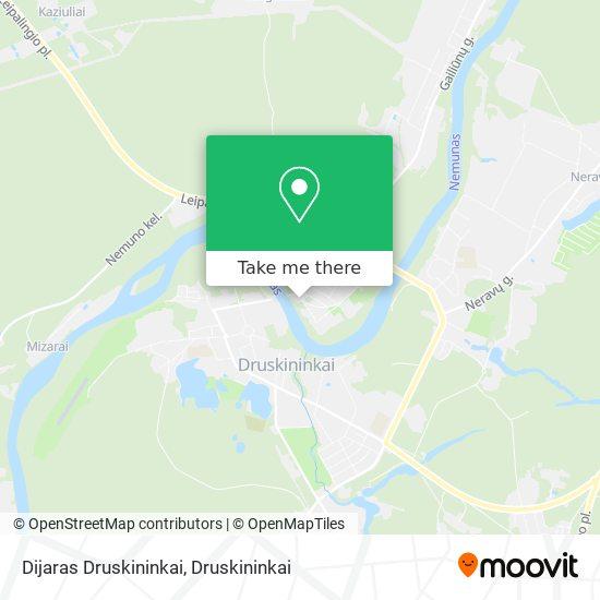 Dijaras Druskininkai map