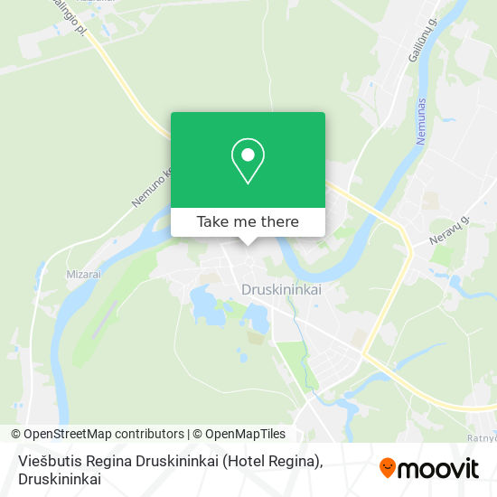 Viešbutis Regina Druskininkai (Hotel Regina) map