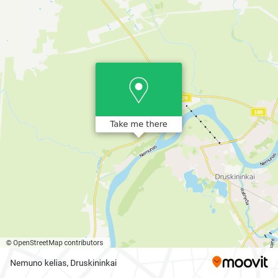Nemuno kelias map