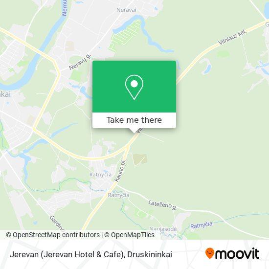 Jerevan (Jerevan Hotel & Cafe) map