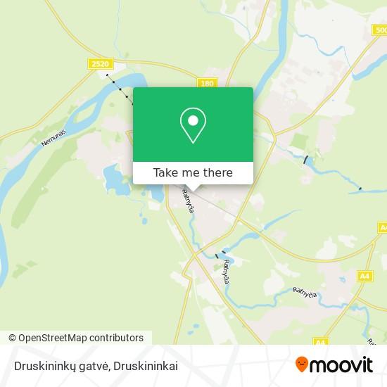 Druskininkų gatvė map