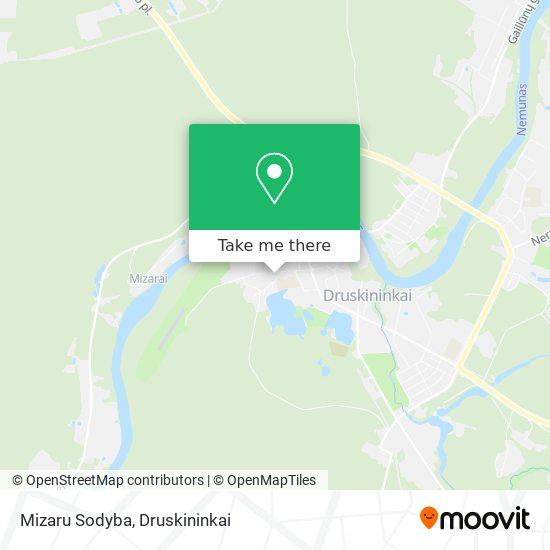 Mizaru Sodyba map