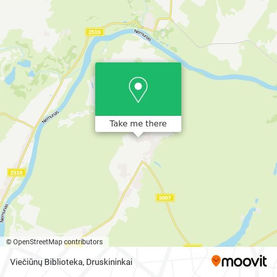 Viečiūnų Biblioteka map
