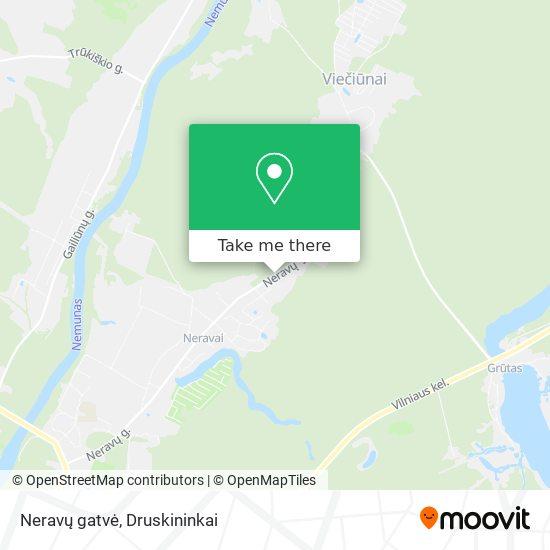 Neravų gatvė map