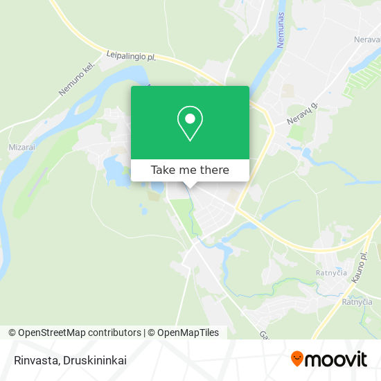 Rinvasta map
