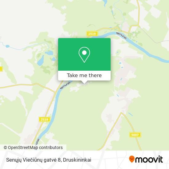 Senųjų Viečiūnų gatvė 8 map