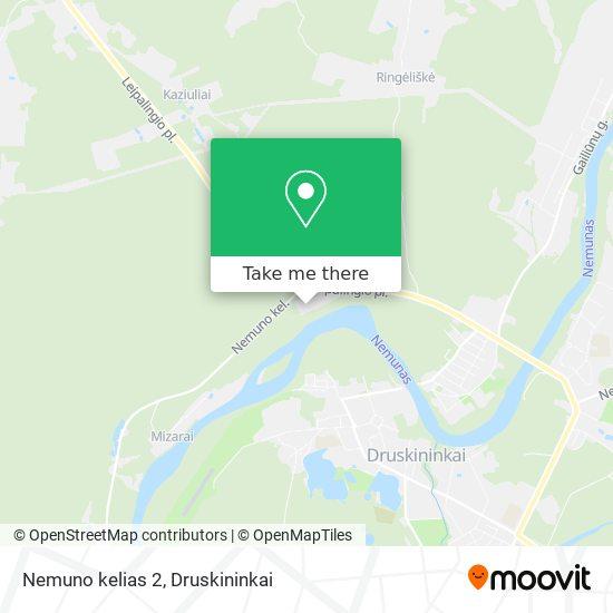 Nemuno kelias 2 map