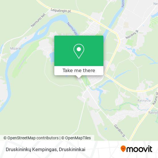 Druskininkų Kempingas map