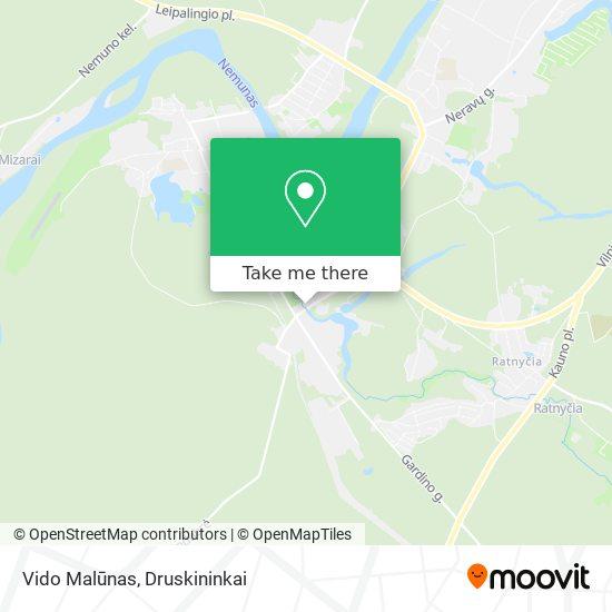 Vido Malūnas map