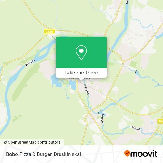 Bobo Pizza & Burger map
