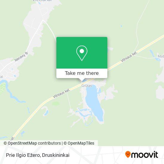 Prie Ilgio Ežero map