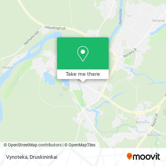 Parduotuvė Solo Vynoteka map