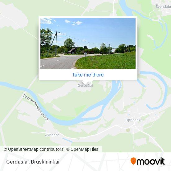 Gerdašiai map