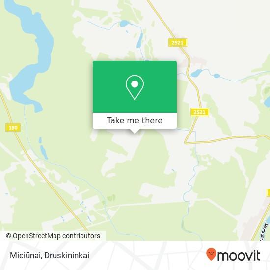 Miciūnai map