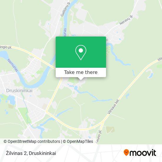 Žilvinas 2 map