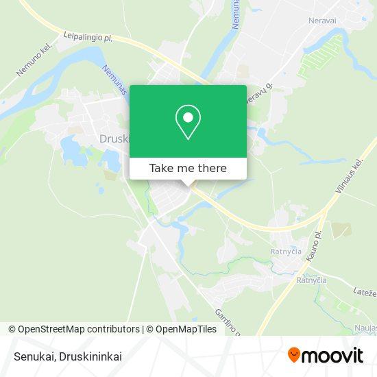 Senukai map
