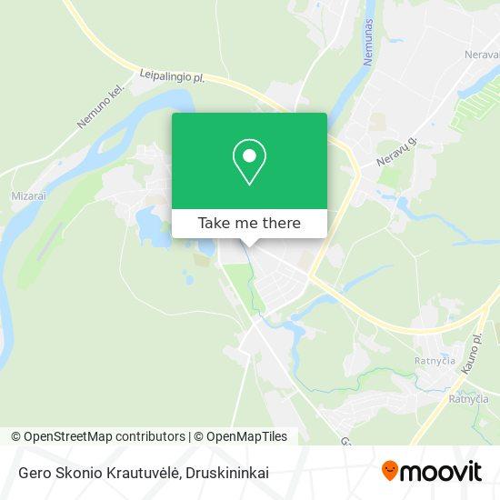 Gero Skonio Krautuvėlė map