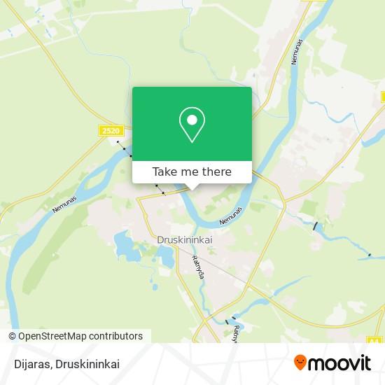 Dijaras map