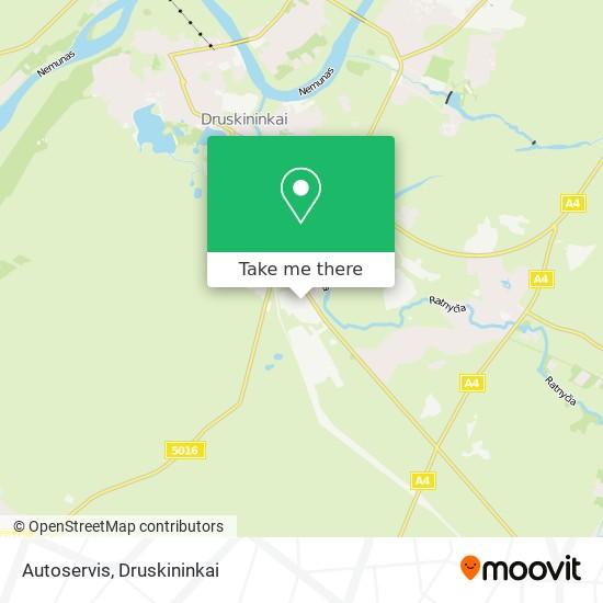 Autoservis map
