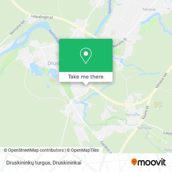 Druskininkų turgus map