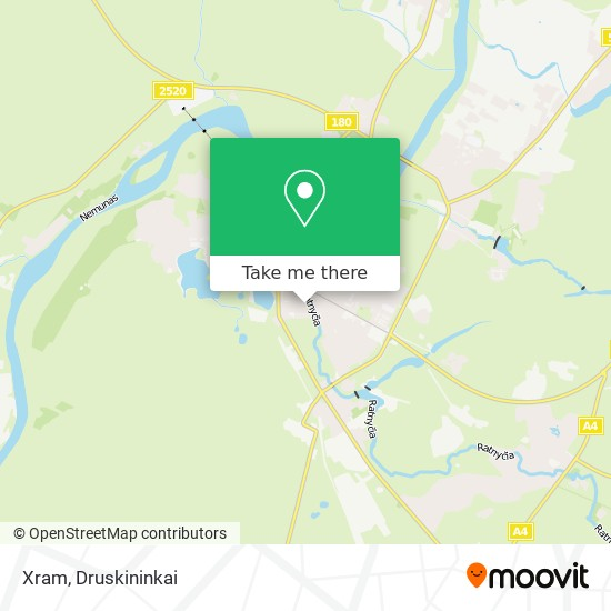 Xram map
