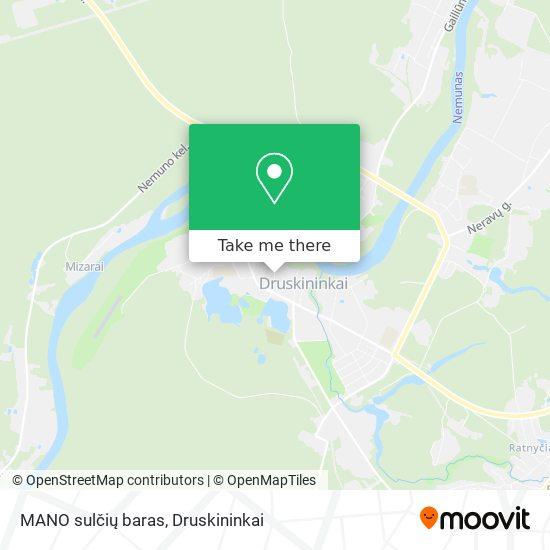 MANO sulčių baras map