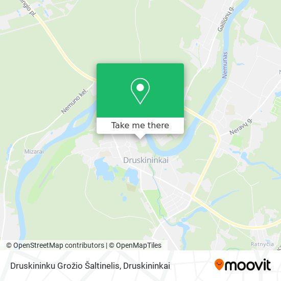 Druskininku Grožio Šaltinelis map