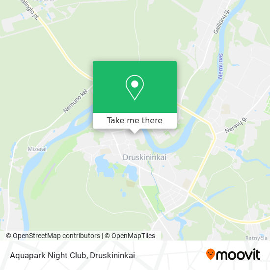 Aquapark Night Club map