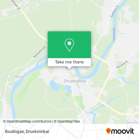 Boulingas map