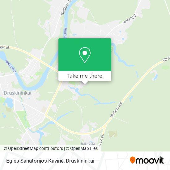 Eglės Sanatorijos Kavinė map