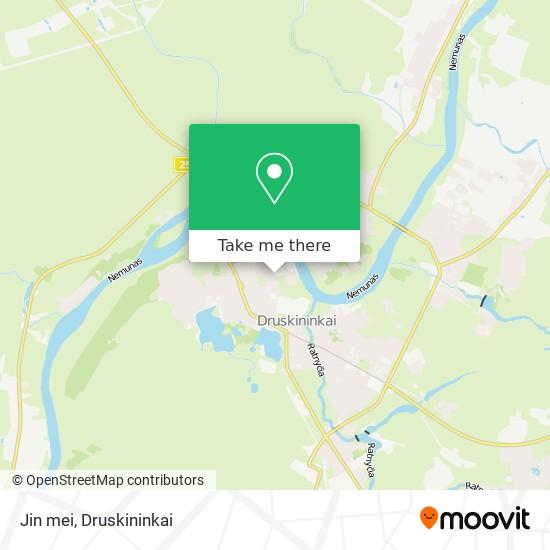 Jin mei map