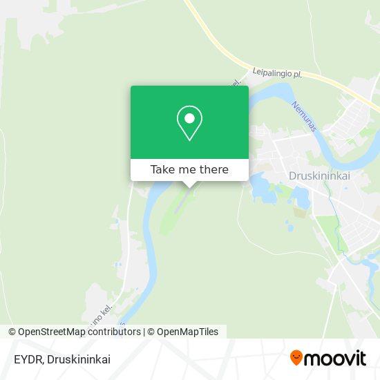 EYDR map