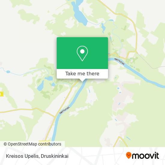 Kreisos Upelis map