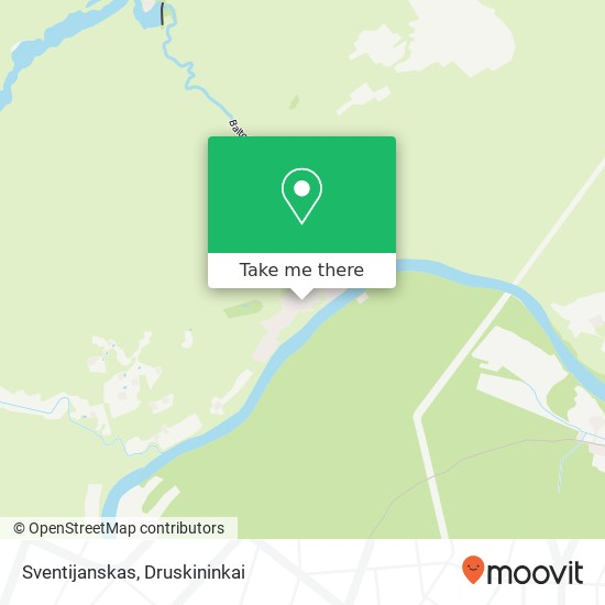 Sventijanskas map