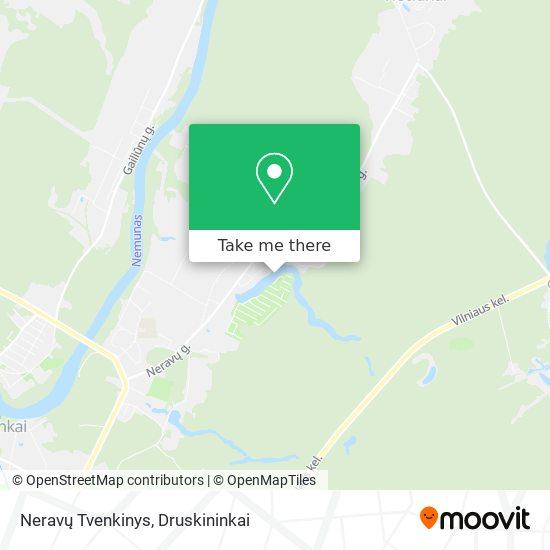 Neravų Tvenkinys map