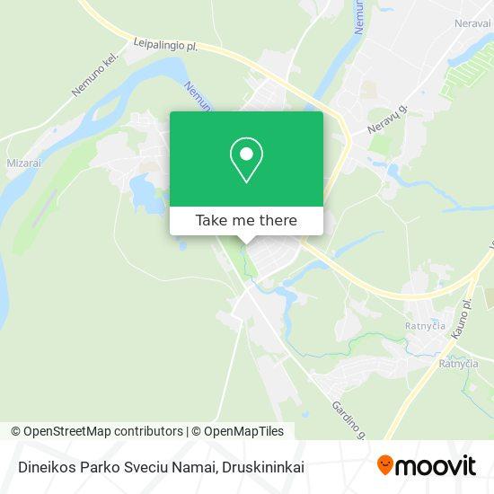 Dineikos Parko Sveciu Namai map