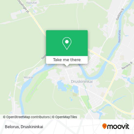 Belorus map