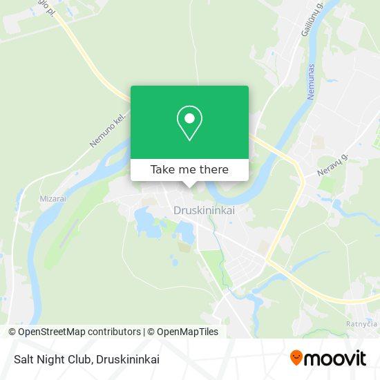 Salt Night Club map