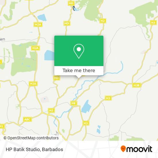 HP Batik Studio map