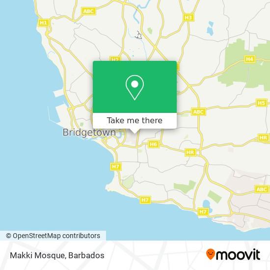 Makki Mosque map